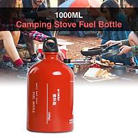 1000ML Empty Fuel Bottle Petrol Kerosene Alcohol Gasoline Container Camping Stove Fuel Bottle