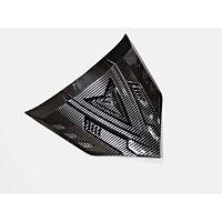 Chỉ Mũi Ốp Mặt Nạ Dành Cho WINNER X Mẫu V2 Xi Carbon + Tặng 01 Móc Treo Inox Gắng Baga Xe Máy