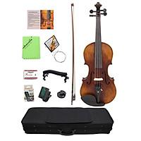 Bộ Đàn Violin Fiddle Gỗ Thủ Công Kích Cỡ Đầy Đủ 4/4 Đi kèm Túi Đựng Và Vải Lau