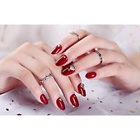 Bộ 24 móng tay giả nail thời trang như hình