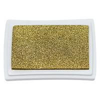 Hộp Mực Dấu Craft Ink Pad - Màu Vàng Đồng