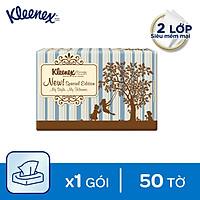 Combo 6 Khăn giấy bỏ túi Kleenex 50 tờ x 3 gói