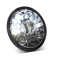 Motorcycle Led Drl Halo Headlight Aluminum Alloy 5.75-inch Motorcycle Headlight