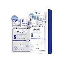 Combo 2 hộp  mặt nạ dưỡng ẩm - chống lão hóa - ngăn ngừa mụn, dưỡng trắng 3 bước Rainbow L'affair Aqua 280ml
