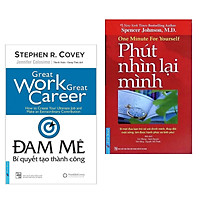 Combo Cẩm Nang Thành Công: Đam Mê - Bí Quyết Tạo Thành Công + Phút Nhìn Lại Mình (Bí Quyết Thay Đổi Cuộc Sống Của Bạn)