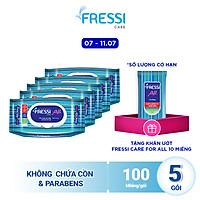 Combo 5 Khăn ướt Fressi Care All 100 tờ