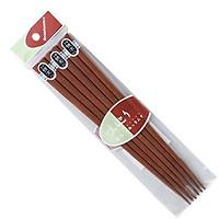 Bộ 3 đôi đũa gỗ 22,5cm loại dày