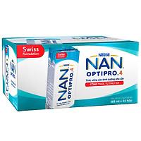Thùng 6 Lốc Sữa Nước Nestlé NAN Optipro (185ml / Hộp)