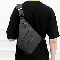 Sling Pack Slim Crossbody Backpack Lightweight Casual Chest Bag for Outdoor Sport Travel Hiking