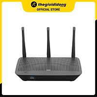Bộ Phát Sóng Wifi Router Chuẩn AC1900 Băng Tần Kép Linksys Max Stream EA7500SAH Đen - Hàng chính hãng