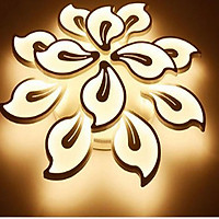 Đèn mâm ốp trần hoa đào 12 tay HK T9021