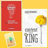 Combo Content Đúng Là King và Linh Hồn Của Quảng Cáo ( Tặng Kèm Sổ Tay Xương Rồng)