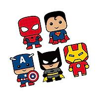 Bao lì xì hình siêu nhân siêu anh hùng vạn bé mê combo 10 bao