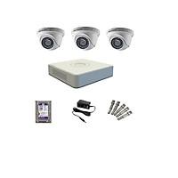 Trọn bộ 3 camera Hikvision 720 (Gia đình, văn phòng, cửa hàng) Hàng Chính Hãng