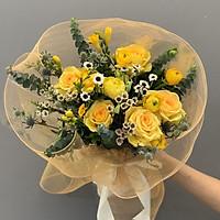 Bó hoa hồng vàng Anna - B13