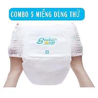 Combo 5 miếng trải nghiệm tã/bỉm quần/dán Baobei đủ size S/M/L/XL/XXL