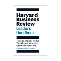 Sách - The Harvard Business Review Leader's Handbook : Make an Impact, Inspire Your Organization, and Get to the Next Level by Ron Ashkenas - (US Edition, paperback)