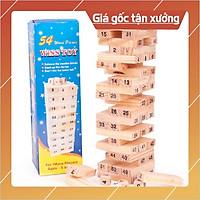-XẢ HÀNG- Bộ đồ chơi rút gỗ 54 thanh mini