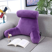 65cm Backrest Pillow Bed Cushion Support Reading Back Rest Arms Chair Office