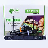 Micro không dây KIWI A3 plus - Hàng chính hãng