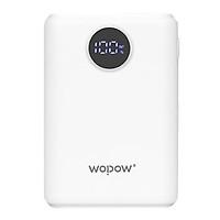 Pin Sạc Dự Phòng Wopow 10000mAh Tích Hợp Đèn LED Mi10L - Hàng Chính Hãng