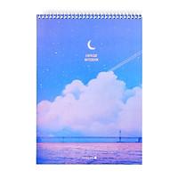 Sổ Lò Xo Fantasy Dream Morning Glory 83157 - Mẫu 4 - Màu Tím