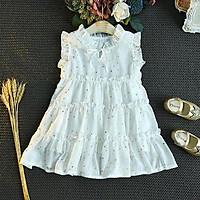 Váy trắng ngôi sao siêu đáng yêu cho bé 1-6 tuổi