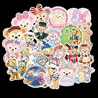 Sticker 36 miếng hình dán Teddy Bear - hàng nhập khẩu