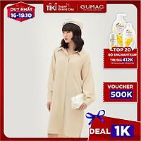 Đầm suông nữ thiết kế phối 2 túi GUMAC DB389