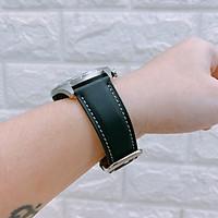Dây đồng hồ da bò thật cho Galaxy Watch 3 45mm / Galaxy Watch 46 / Huawei Watch GT 2 / Ticwatch Pro (Size 22mm)