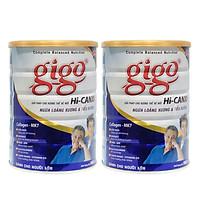 Combo 2 hôp Sữa bột Gigo HI-CANXI 900g - ngừa loãng xương & tiểu đường cho người trưởng thành