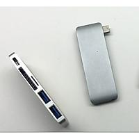 HYPERDRIVE USB TYPE-C 5-IN-1 HUB WITH PASS THROUGH CHARGING (FOR 2016 MACBOOK PRO & 12″ MACBOOK) - GN21B - Hàng Chính Hãng