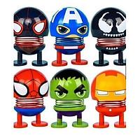 Thú nhún emoji lò xo hình siêu anh hùng Chọn màu