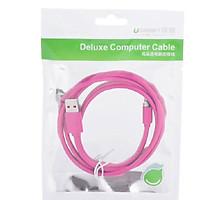 Cáp Micro USB Ugreen Dài 1M Màu Hồng 10858 hàng chính hãng