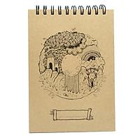 Sổ Sketchbook Alphabet - Hình Chữ O