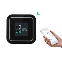 Intelligent WiFi CO2 Detector Carbon Dioxide Monitor Over Standard Concentration Alarm Function Time Weather Display