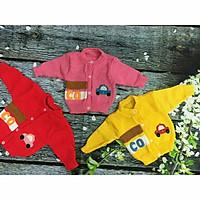 Combo 03 áo len ô tô cho bé sơ sinh