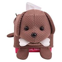 Hộp Giấy Chữ Nhật Đầu Con Chó U & YABY 044/1