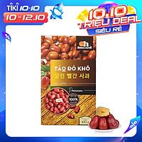 Táo Đỏ Khô Cao Cấp Smile Nuts Hộp 500g