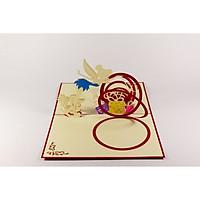 Thiệp 3D - Sinh nhật và Tinkerbell - NCN50