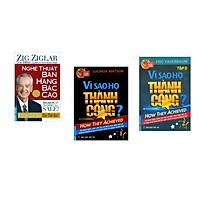 Combo 3 cuốn sách: Nghệ Thuật Bán Hàng Bậc Cao (Khổ Lớn) + Vì Sao Họ Thành Công 1? + Vì Sao Họ Thành Công 2 ?