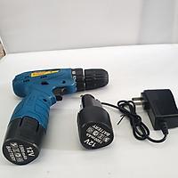 Máy Khoan Dùng Pin Tianhu Tools Máy Khoan Máy Khoan Bắn Vit Máy Khoan Cầm Tay Máy Khoan Sửa Chữa Vặn Vít Có Đảo Chiều (Kèm Pin Dự Phòng) 12V