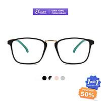 Gọng kính cận dáng vuông Elmee E210 - kính gọng dẻo có cắt mắt cận