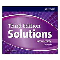 Solutions (3E) Intermediate Class Audio CDs