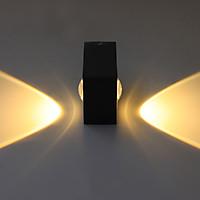Đèn Trang Trí Gắn Tường Ngoài Trời DNT12_6 6w Ánh Sáng Vàng Ấm Áp