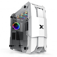 Vỏ case máy tính Xigmatek X7 Màu trắng EN46225 - Hàng chính hãng
