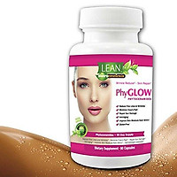 Lean Nutraceuticals 350 mg Phytoceramides Gluten-Free All Natural Plant Derived PhyGLOW Skin Restoring, Anti-Aging Dermatologist Recommended Ceramides Formula with Vitamins A,C,D,E 90 Caps