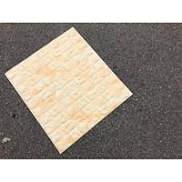 Combo 10 tấm xốp dán tường giả đá 3D đẹp sang trọng
