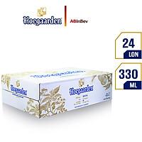 Thùng 24 Lon Bia Hoegaarden (330ml / Lon)