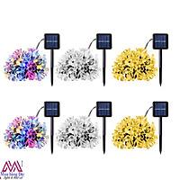 Đèn năng lượng mặt trời hoa sakura trang trí sân vườn